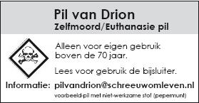 Pil van drion legaal