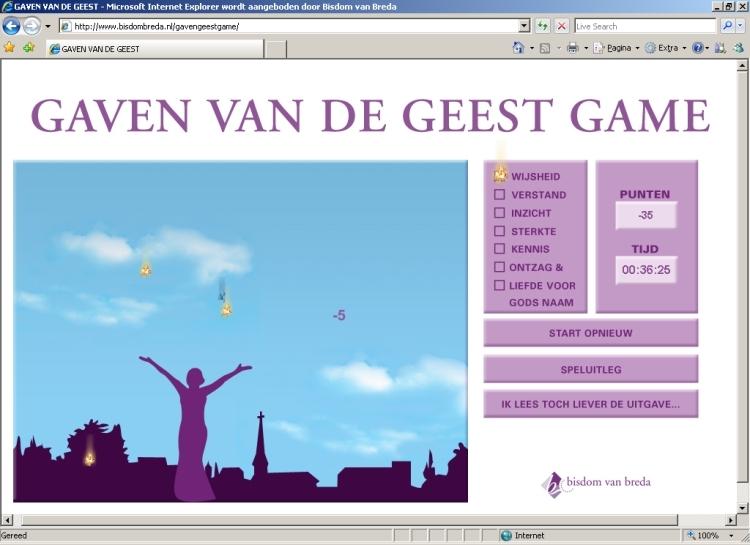 gamen met de gaven van de geest   goedgelovig.nl
