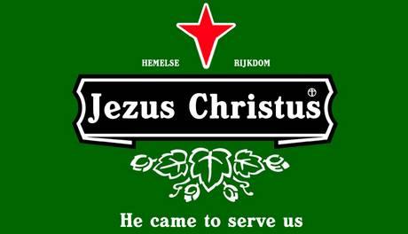 Jezus Christus neemt Heineken over | Goedgelovig.nl