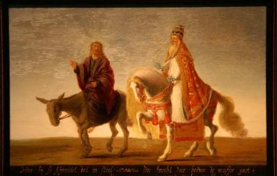 Jezus en de paus