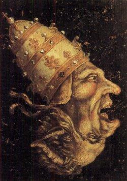 Paus en duivel