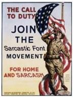 Sarcastic-Font
